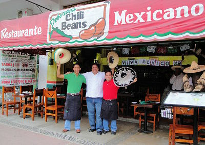 Chili Beans Restaurant on Ixtapa Boulevard