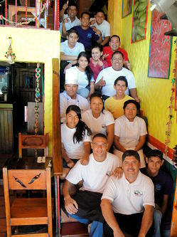 The staff at Chili Beans Restaurant